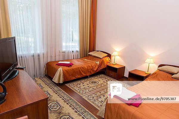 Innenarchitektur Schlafzimmer Hotel Russland modernes Zuhause