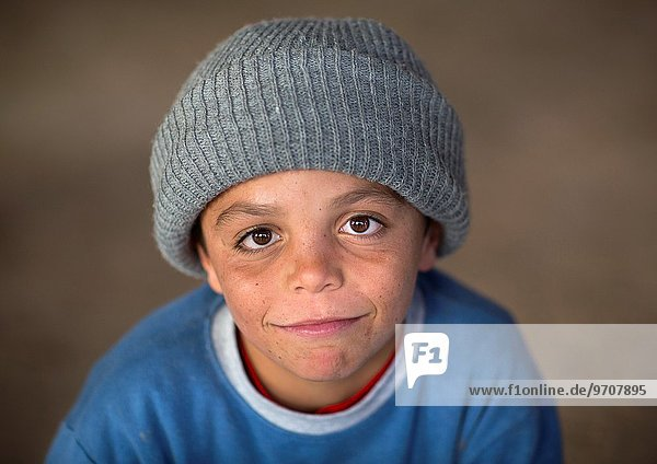 Yezedi Refugee Child From Sinjar  Duhok  Kurdistan  Iraq.