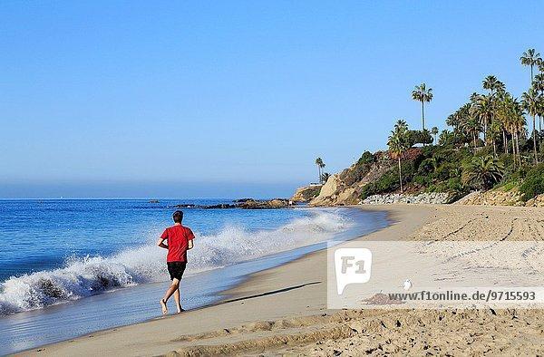 Mann Strand rennen Kalifornien Laguna Beach Orange County