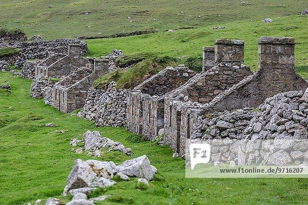 Naturschutzgebiet Stein Dorf Präsentation Schottland