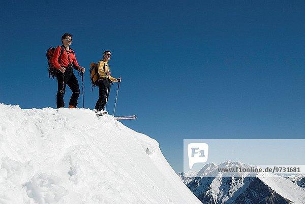 Berg hoch oben 2 Ski
