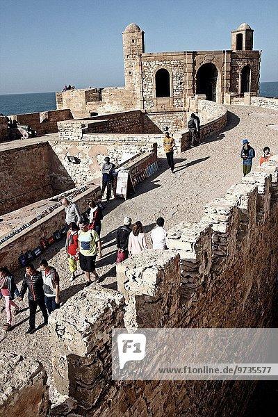Fortress  Skala of the Kasbah  Essaouira  Morocco