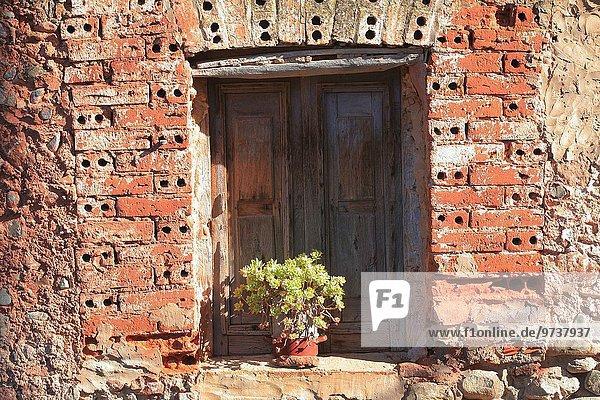 Europa Fenster Dorf alt Spanien