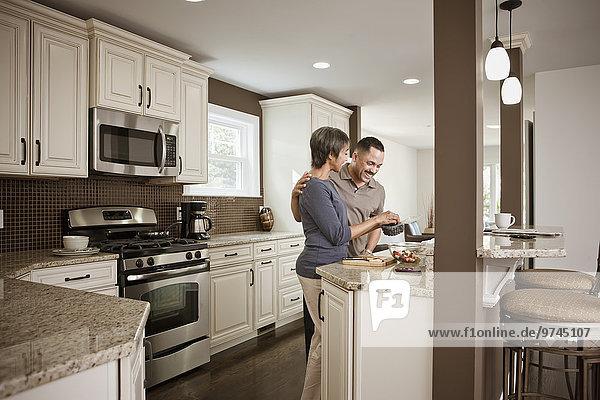 Zusammenhalt Vorbereitung Küche Gericht Mahlzeit