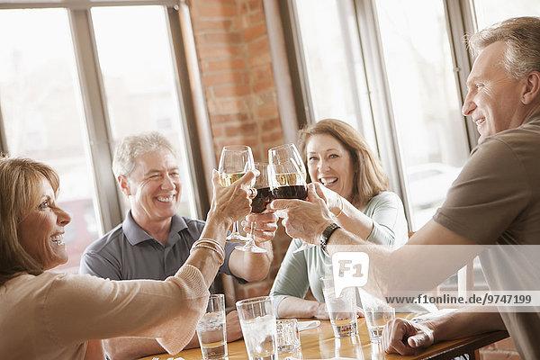 Europäer, Freundschaft, Wein