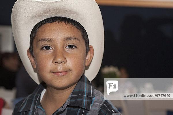Junge - Person Hut Hispanier Kleidung Cowboy