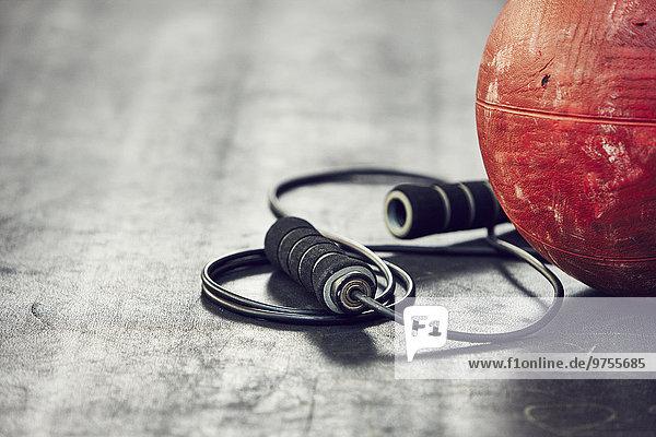 Fitness-Studio Seil Tau Strick springen Ball Spielzeug