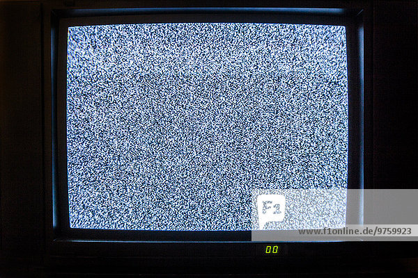 Television with image interference