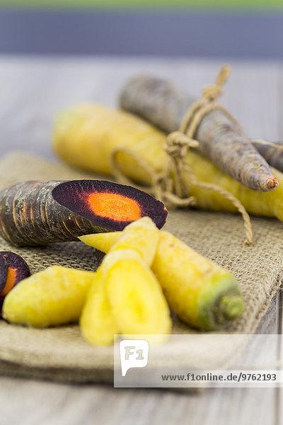 Bio Purple Haze und gelbe Karotten