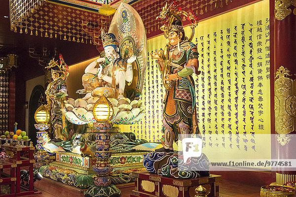 Südostasien Asien Buddha Reliquie Singapur