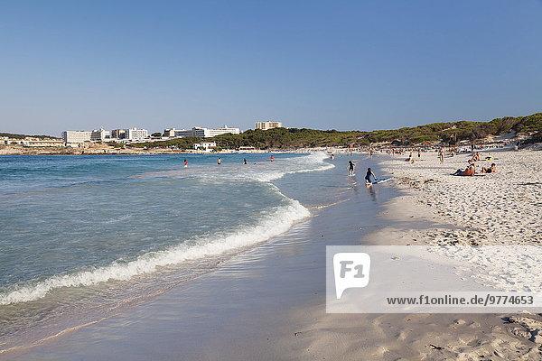 Europa Strand Insel Cala Ratjada Spanien
