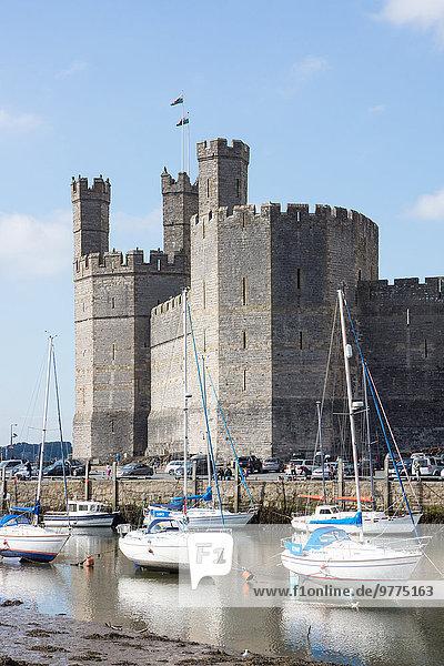 Europa Großbritannien UNESCO-Welterbe Wales