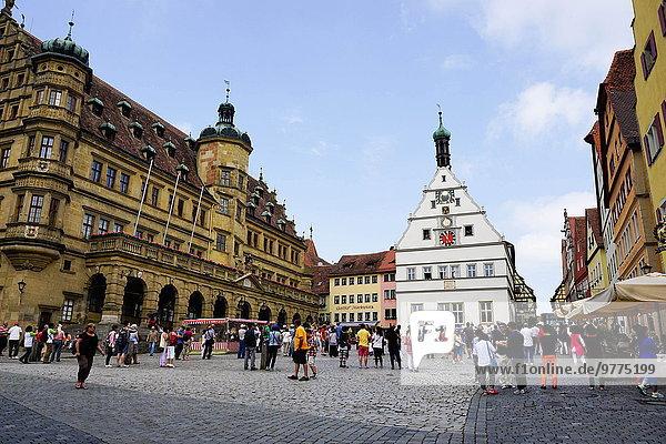 Europa Quadrat Quadrate quadratisch quadratisches quadratischer Bayern Franken Deutschland Markt