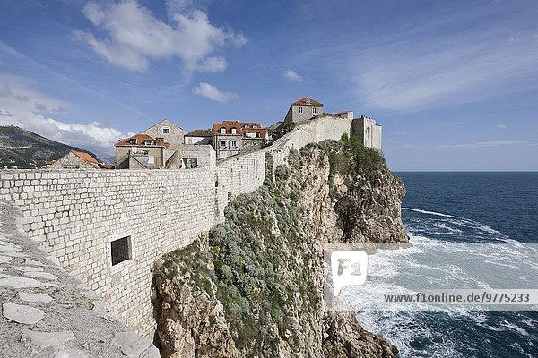 Europa, UNESCO-Welterbe, Kroatien, Dubrovnik