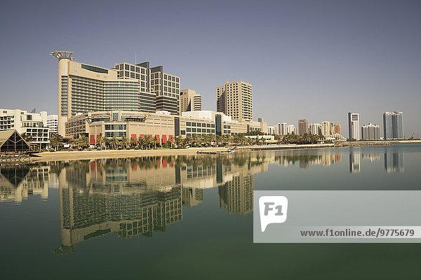 Abu Dhabi Hauptstadt Vereinigte Arabische Emirate VAE Naher Osten