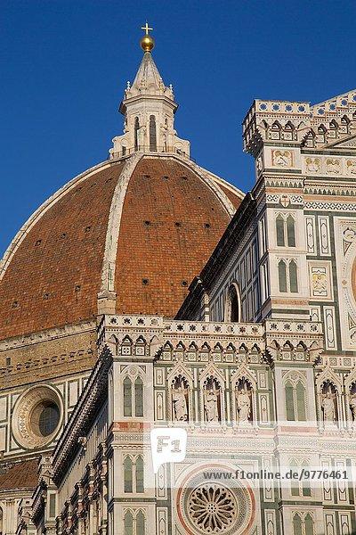 Europa UNESCO-Welterbe Kathedrale Florenz Italien Toskana