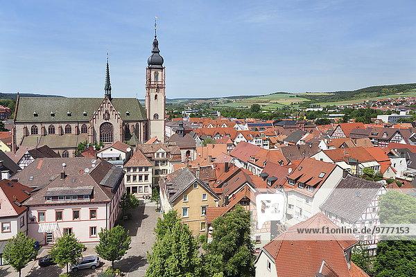Europa Stadt Deutschland Martinskirche alt Baden-Württemberg
