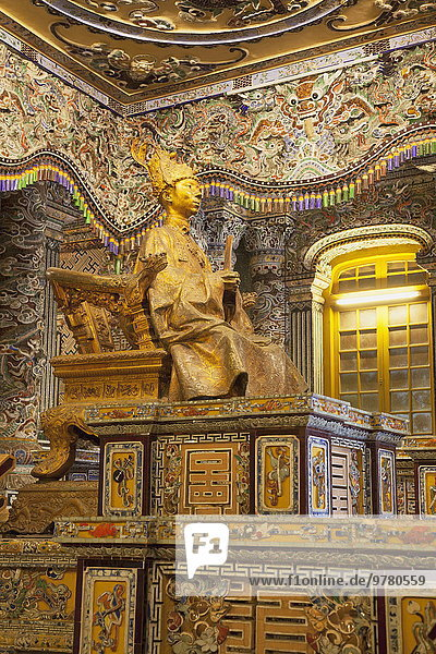 Statue Südostasien UNESCO-Welterbe Vietnam Asien Grabmal