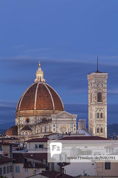 Europa UNESCO-Welterbe Kathedrale Florenz Basilika Italien Toskana