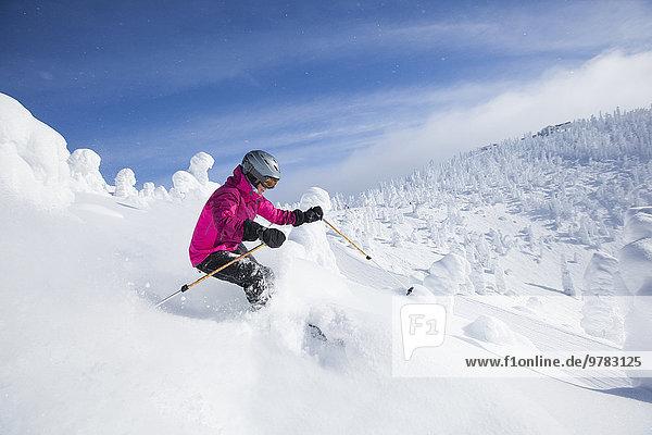 Frau Berg Skisport