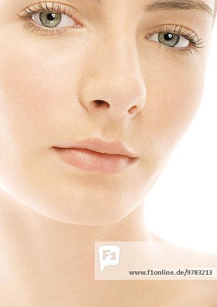 Gesicht einer jungen Frau  Porträt