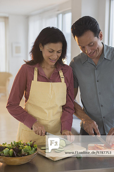 Küche Gemüse hacken