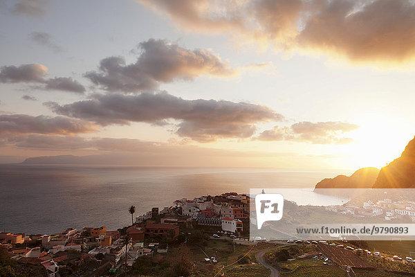 Agulo  La Gomera  Kanarische Inseln  Spanien  Europa