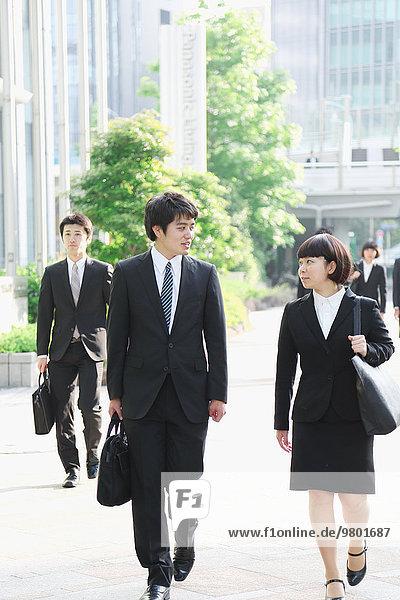 Mensch Menschen jung Business japanisch