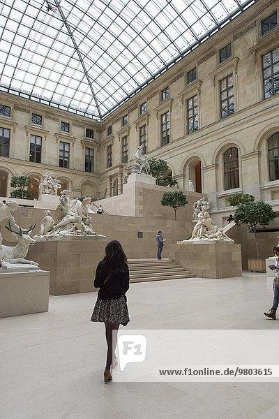 Paris Hauptstadt Frankreich französisch Louvre