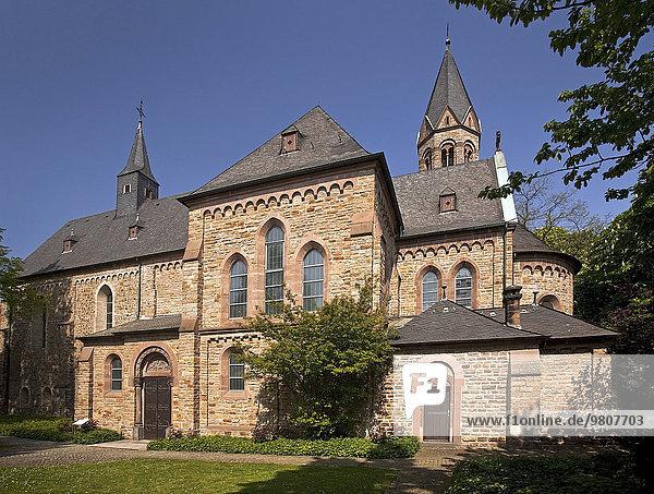 Monastery Saarn  Mülheim  Ruhr district  North Rhine-Westphalia  Germany  Europe