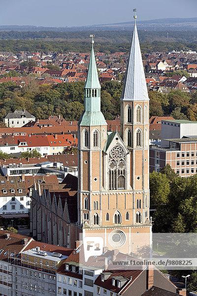 St.-Katharinen-Kirche  Braunschweig  Niedersachsen  Deutschland  Europa