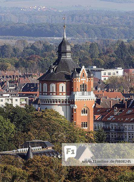 Wasserturm auf dem Giersberg von 1901  Braunschweig  Niedersachsen  Deutschland  Europa