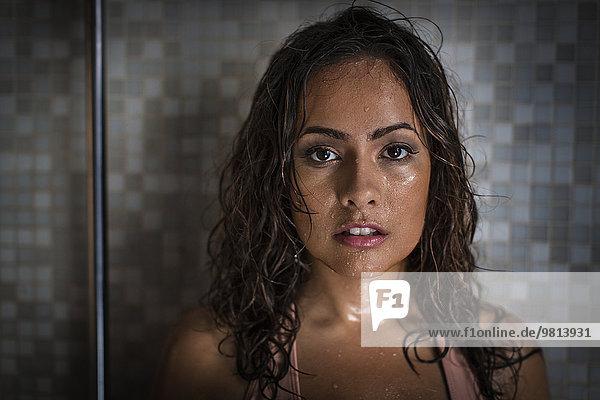Porträt einer schwülen Frau