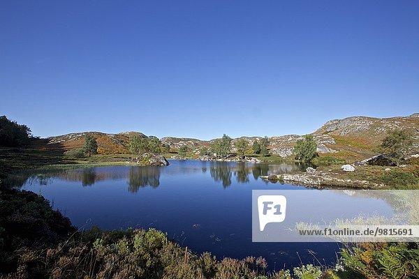 Kleiner See  Whitebridge  Schottland