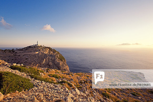 Spanien  Mallorca  Cap Formentor  Leuchtturm
