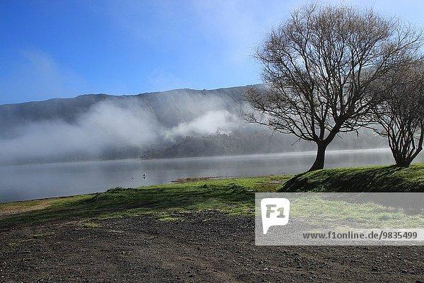 Sete Cidades lake  Sao Miguel island  Azores  Portugal.