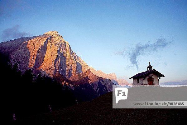 Kirche Hütte Österreich Innsbruck Tirol