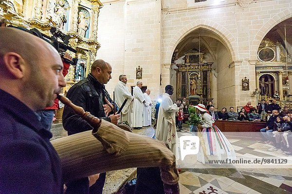 Stadt Bewunderung Heiligtum Kunde Mallorca Algaida Balearen Balearische Inseln Spanien