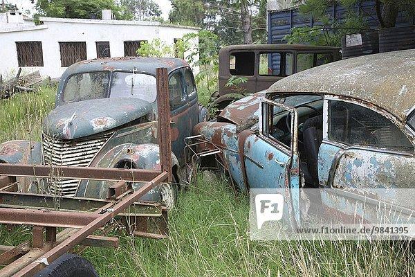 Auto Rost Oldtimer alt