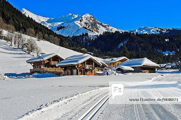 überqueren Frankreich Skisport Morzine Zimmer Haute-Savoie Kreuz Manche