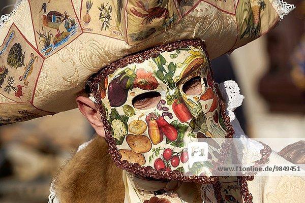 Carnival mask  Venice carnival  Venice  Italy