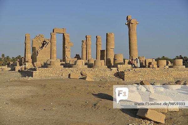 Amun-Tempel von Soleb  asch-Schamaliyya  Nubien  Sudan  Afrika