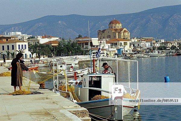 Südeuropa Argolis Griechenland Peloponnes