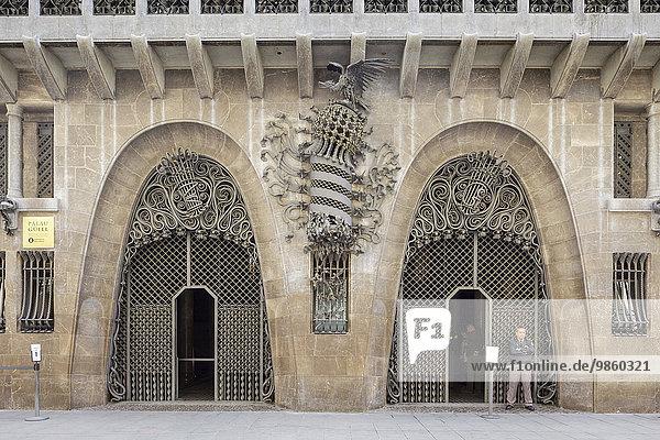 Palau Güell  Barcelona  ??Katalonien  Spanien  Europa
