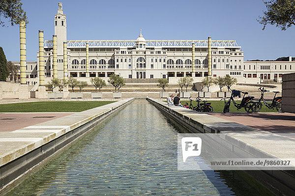 Olympiastadion  Estadi Olimpic de Montjuic Lluis Companys  Barcelona  ??Katalonien  Spanien  Europa