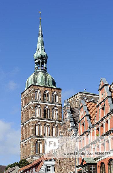 St.-Nikolai-Kirche  Stralsund  Mecklenburg-Vorpommern  Deutschland  Europa