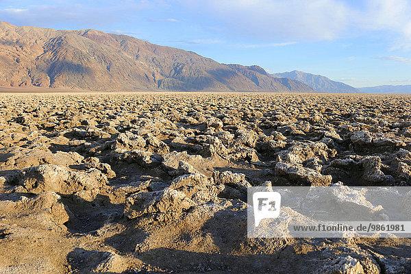 Devils Golf Course  Death Valley  Kalifornien  USA  Nordamerika