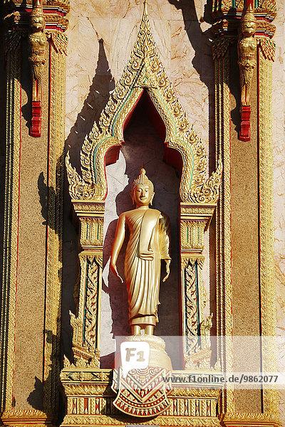 Buddha-Staue am Wat Chalong  Phuket  Thailand  Asien
