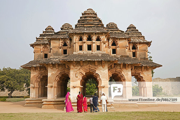 Lotus Mahal  Hampi  Karnataka  India  Asia