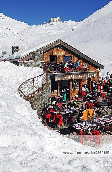 Europa Aostatal Italien